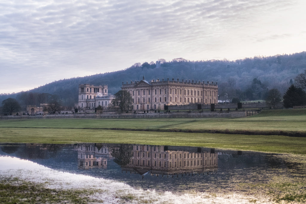 Chatsworth Mirror - Landscape Canvas