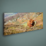 PANORAMIC - CURBAR HIGHLAND - 1.2m x 50cm