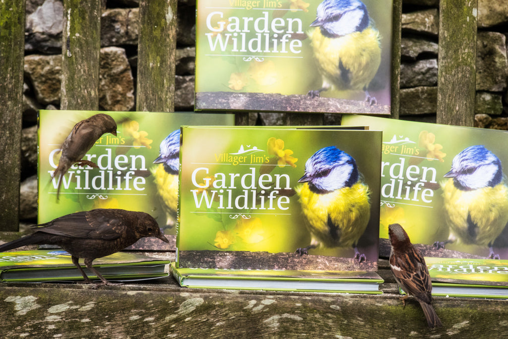 Villager Jim's Garden Wildlife Book