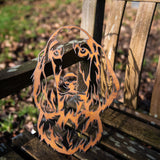 Cocker Spaniel - Rustic Rusted Pet Garden Sculpture - Solid Steel