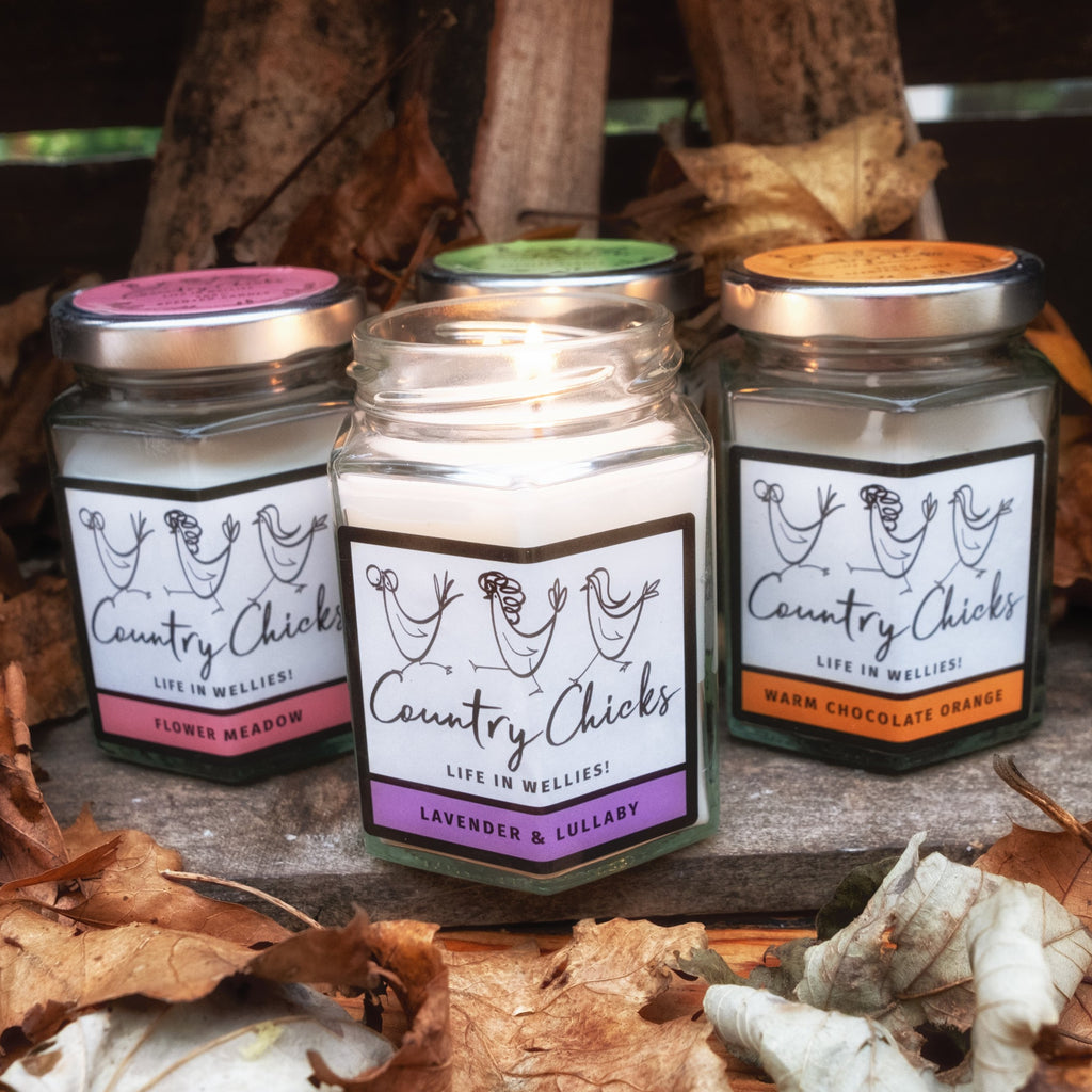 Lavender & Lullaby Candle - 180ml - Country Chicks Candle
