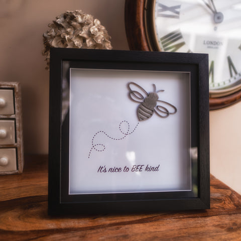 Bee Kind - Box Frame