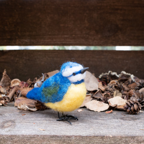 Diedre Blue Tit Needle Felting Kit