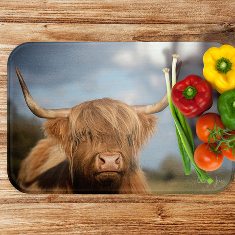 Ellie the Highland - Luxury Large Glass Worktop Saver