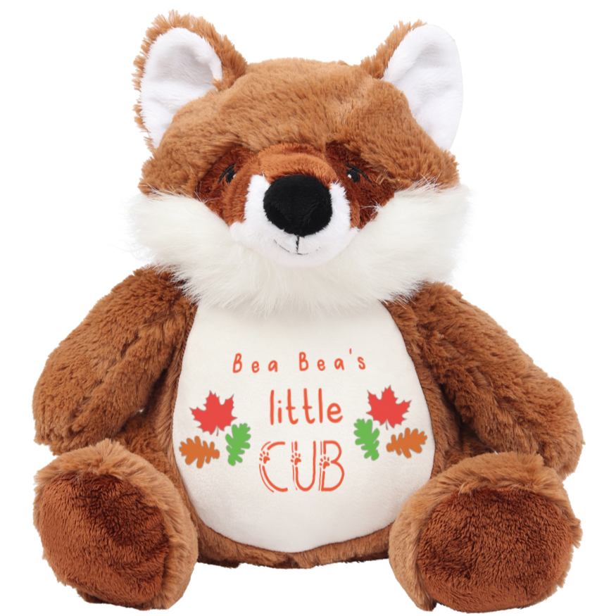 Fox - Personalised Wildlife Cuddlies