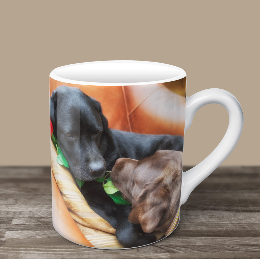 Give Me A Kiss Valentine Mug