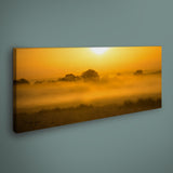 PANORAMIC - GOLDEN MIST - 1.2m x 50cm