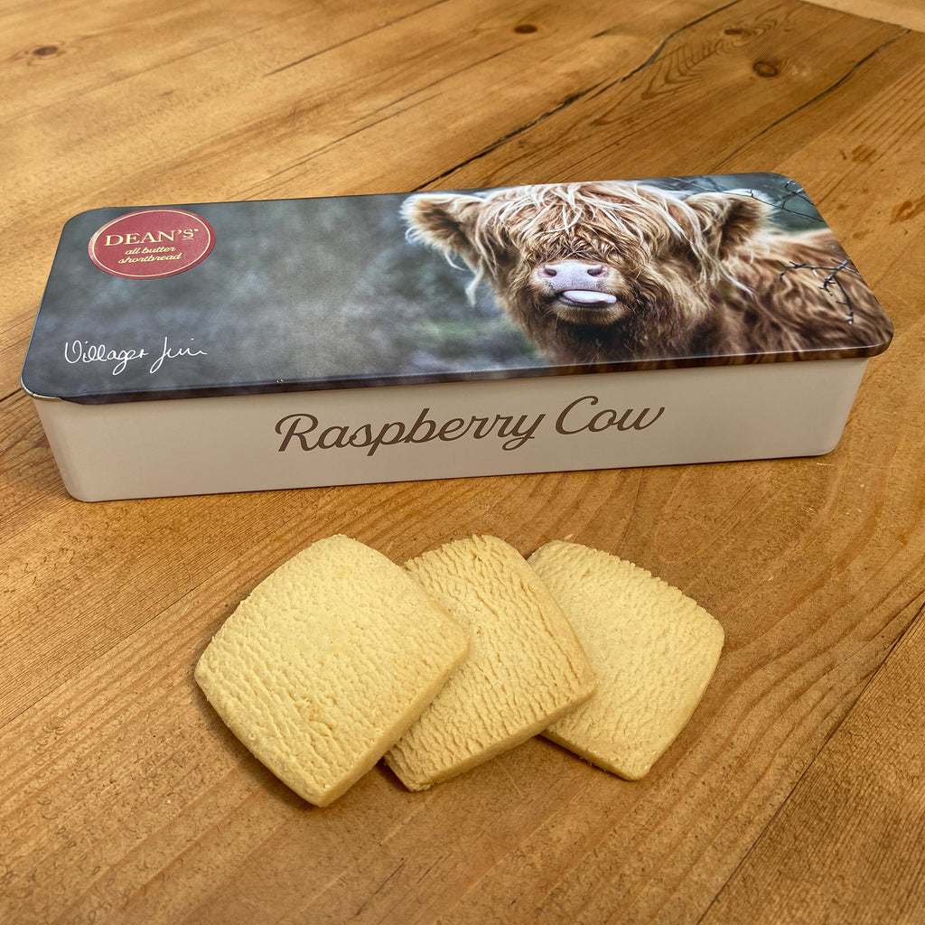 Raspberry Cow - All Butter Shortbread