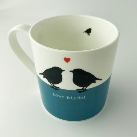 Love Birds China Mug - Clearance Corner