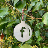 Initial Bauble - Decorations for Life - Solid Steel