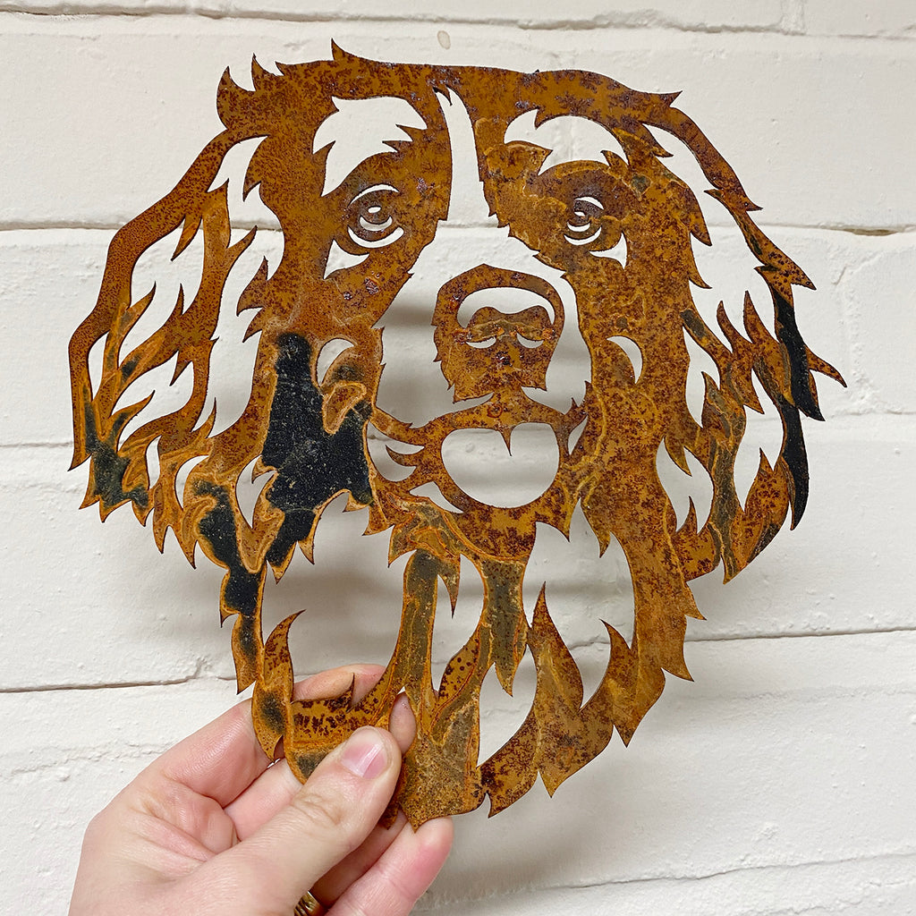 Springer Spaniel SMALL - Ready Rusted - Clearance