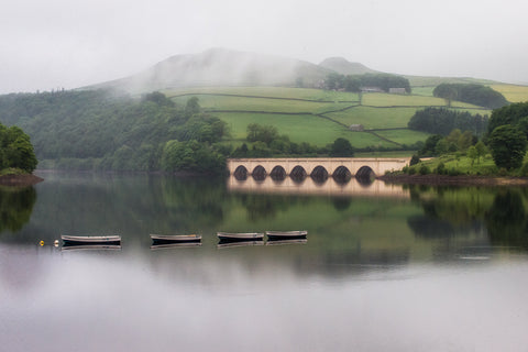 Ladybower in May - Landscape Canvas