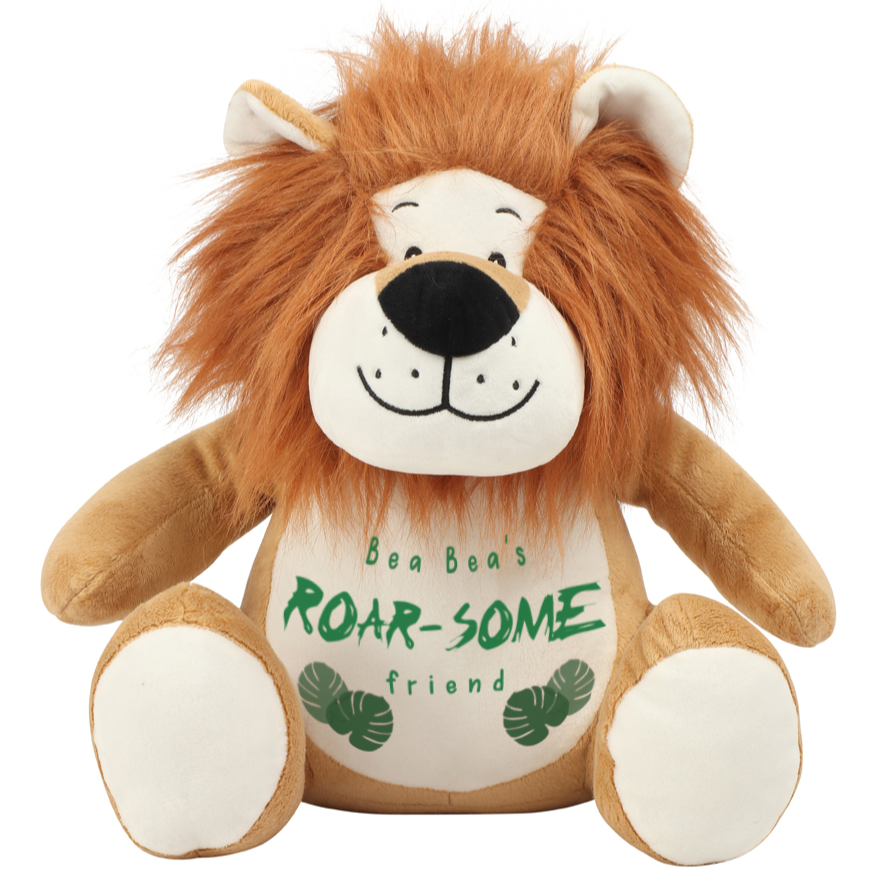 Lion - Personalised Wildlife Cuddlies