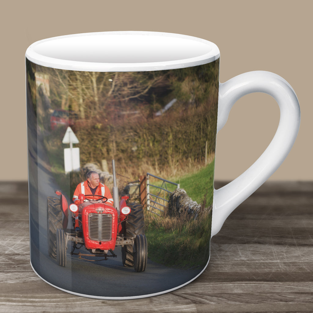 Little Red Tractor Mug