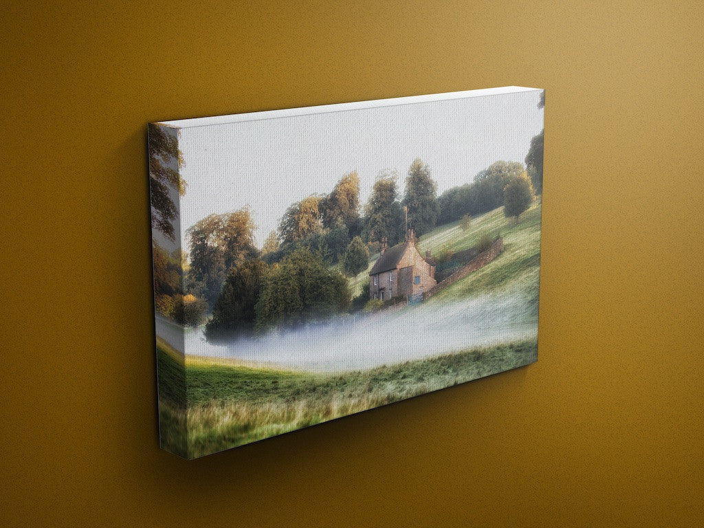 Misty Cottage Chatsworth Canvas