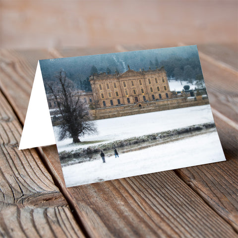 Chatsworth Christmas - Christmas Card