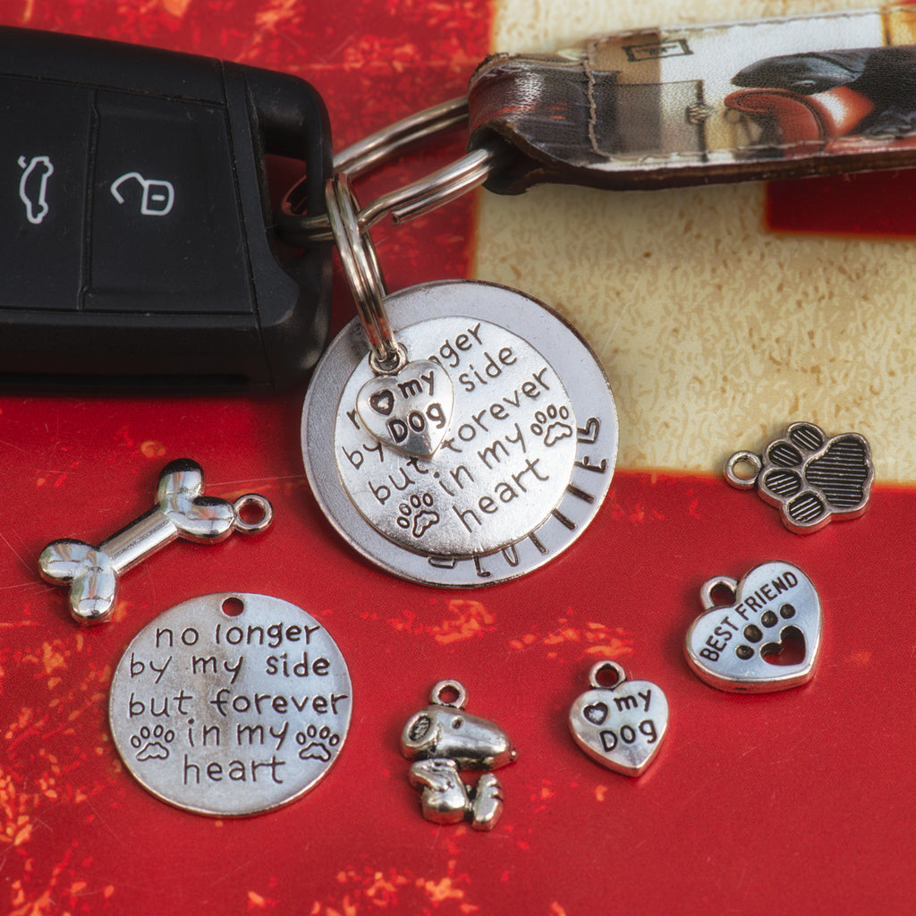 Pet Memorial Keyring Tag