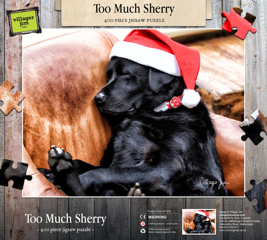 Too Much Sherry - Signature Range Jigsaw Puzzle
