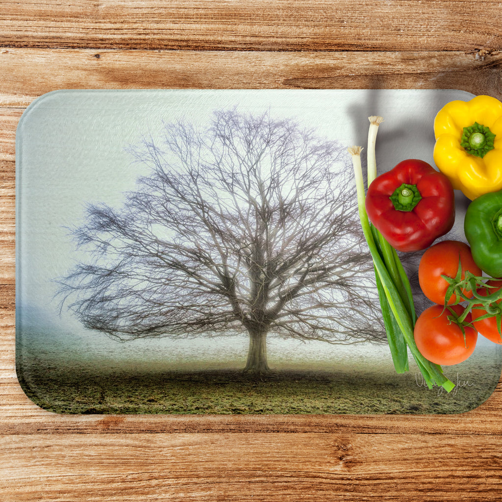 Tree of Life - Luxury Large Glass Worktop Saver