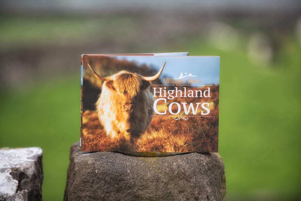 Villager Jim's Highland Cows Book