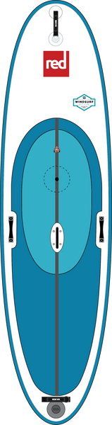 10'7 WindSURF with daggerboard