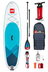 Xplor4 bonus pack. 3pc composite paddle plus net and leash. BUY WITH BOARD