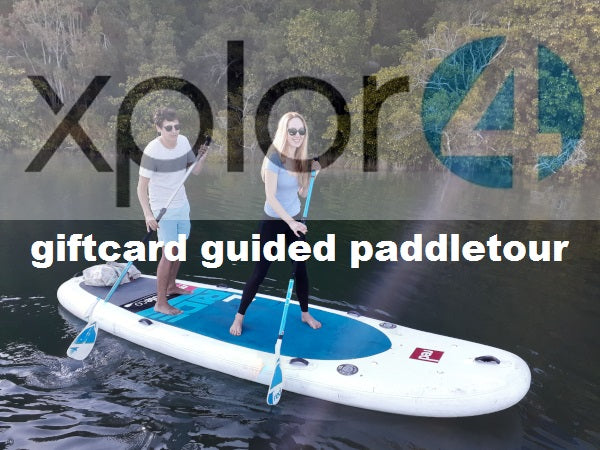 Noosa guided paddletour giftcard