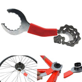 Bicycle Repair Tool Kits MTB Road Bikes Chain Cutter Bracket Flywheel Remover Crank Puller Wrench Maintenance Tools RR7304