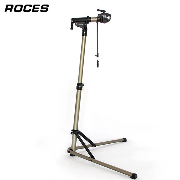 Aluminum Alloy Bike Work Stand Professional Bicycle Repair Tools Adjustable Fold Bike Rack Holder Storage Bicycle Repair Stand
