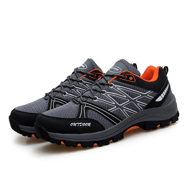 Hiking Shoes Man Trekking Mountain Climbing Boots Backpacking Non-slip Trail Hiking Sneakers Men's Amped Hiking Boots for Man