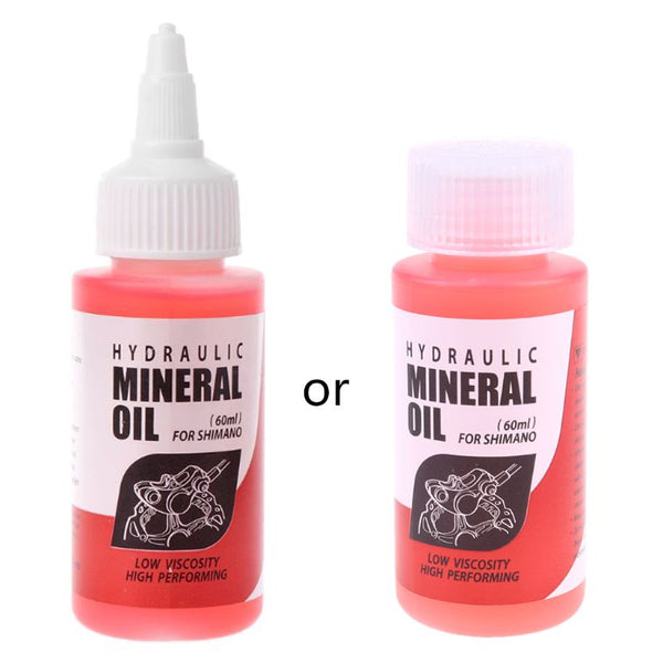 Bicycle Brake Mineral Oil System 60ml Fluid Cycling Mountain Bikes