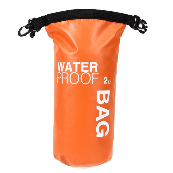 Ultralight Portable hi viz 2L Waterproof Storage Dry Bag
