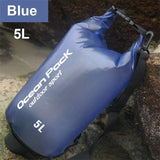 Sport Outdoor Waterproof Swimming Bag Bucket Dry Sack Storage Bag Rafting Sports Kayaking Canoeing Travel Water Barrel 5L 10L