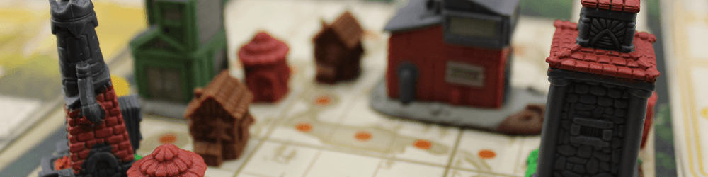 You'll get familiar with these little buildings quickly