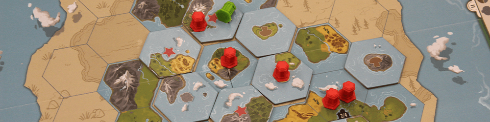 See? Hexes! Just like Civ!