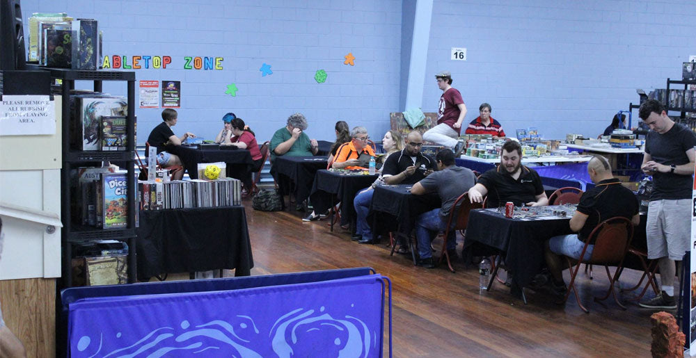 BrisCon 2016's Interntaional Tabletop Day Celebrations with Vault Games