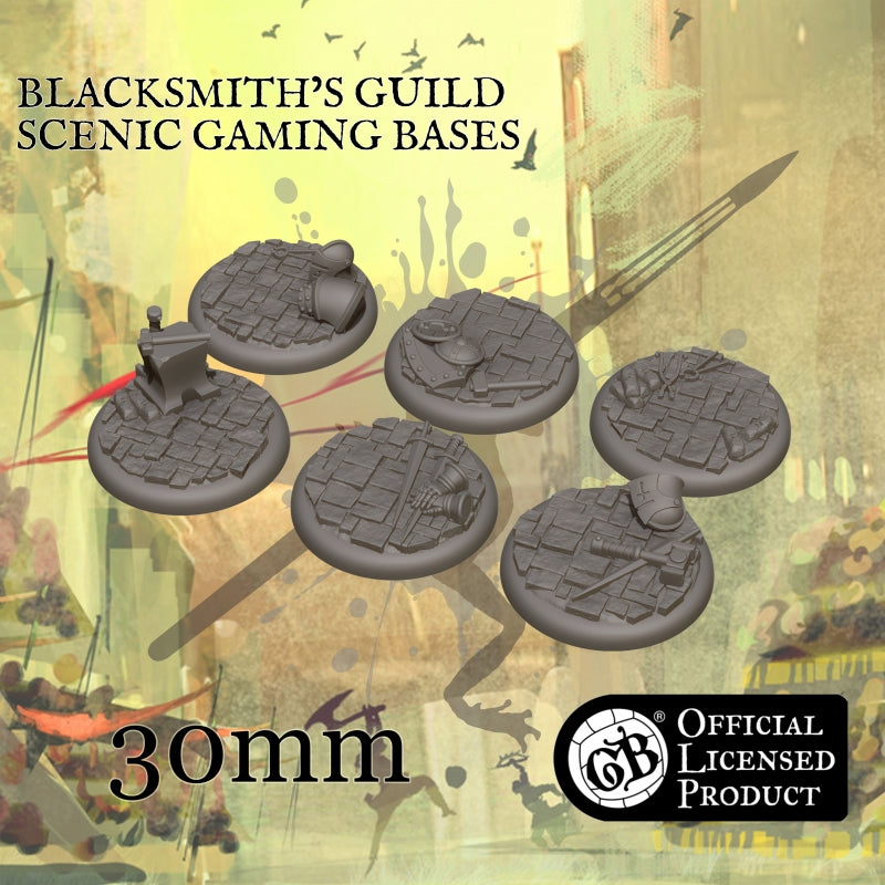 Blacksmith's 30mm bases