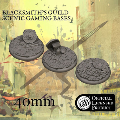 Blacksmith's 40mm bases product-item1