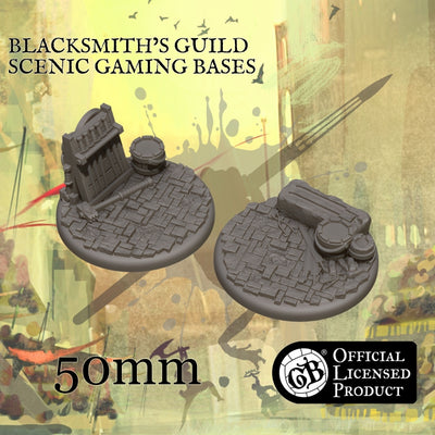 Blacksmith's 50mm bases product-item1