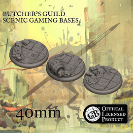 Butcher's 40mm bases