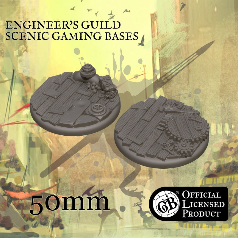 Engineer's 50mm bases