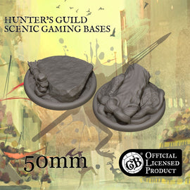 Hunter's 50mm bases