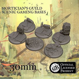Mortician's 30mm bases