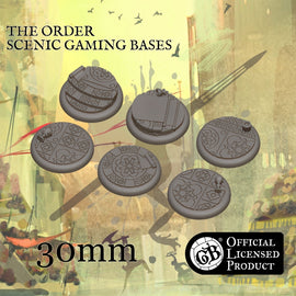 The Order 30mm bases