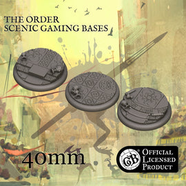The Order 40mm bases