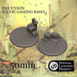 The Union 50mm bases