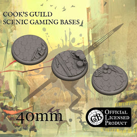 Cook's 40mm bases