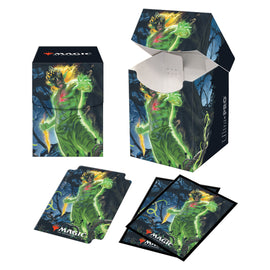 Ultra Pro Combo: Deck Box 100+ and 100ct Sleeves - Zendikar - Obuun, Mul Daya Ancestor (V1)