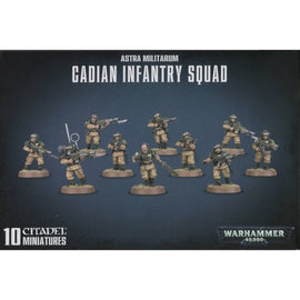 Astra Militarum Cadian Infantry Squad (Shock Troops)