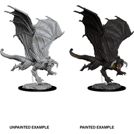 Dungeons & Dragons Nolzur's Marvelous Miniatures - Young Black Dragon